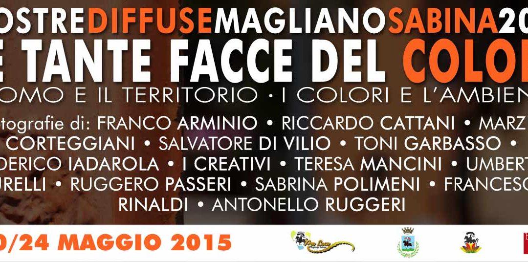MOSTRE DIFFUSE MAGLIANO SABINA 2015: COMUNICATO #1.1