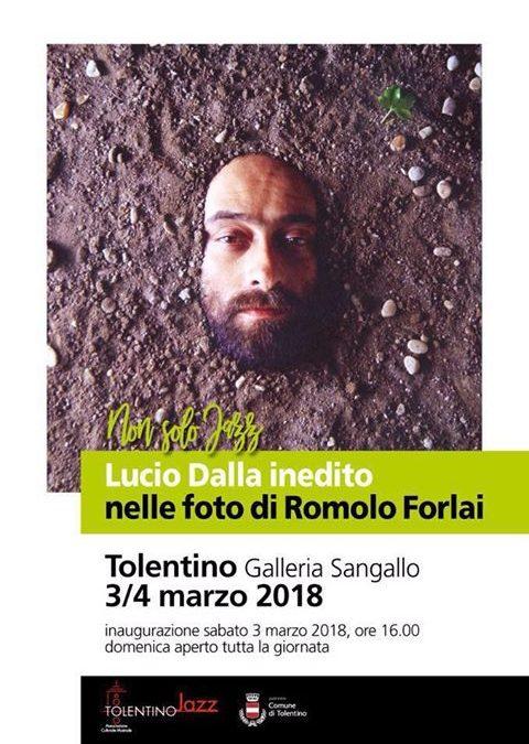 Lucio Dalla nelle inedito foto di Romolo Forlai