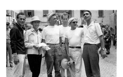 Mario Maffei : foto e libro del set  La Grande Guerra