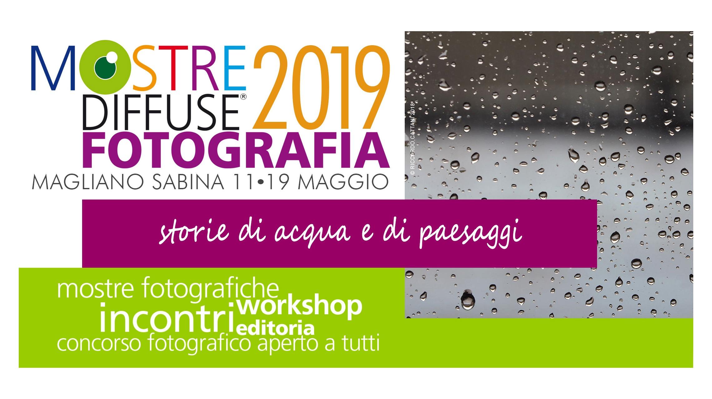 Mostre Diffuse Fotografia 2019, storie di acqua e di paesaggi