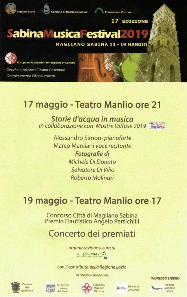 sabina musica festival 2019 - pianista alessandro simoni - fotografie: michele di donato, salvatore di vilio, roberto molinari - voce marco marciani - mostre diffuse fotografia 2019