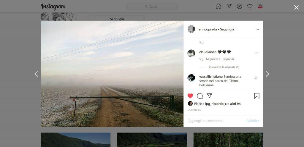 Contest instagram #fase2ilprimogiorno, evento mostre diffuse fotografia 2020, Enrico Prada