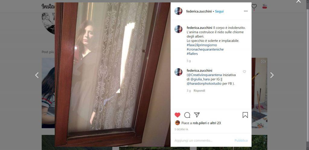 Contest instagram #fase2ilprimogiorno, evento mostre diffuse fotografia 2020, Federica Zucchini