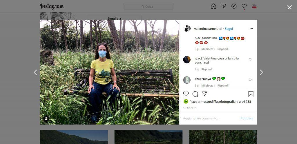 Contest instagram #fase2ilprimogiorno, evento mostre diffuse fotografia 2020, Valentina Carnelutti