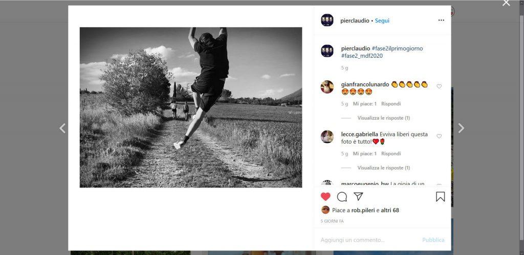 Contest instagram #fase2ilprimogiorno, evento mostre diffuse fotografia 2020, Pierclaudio Duranti