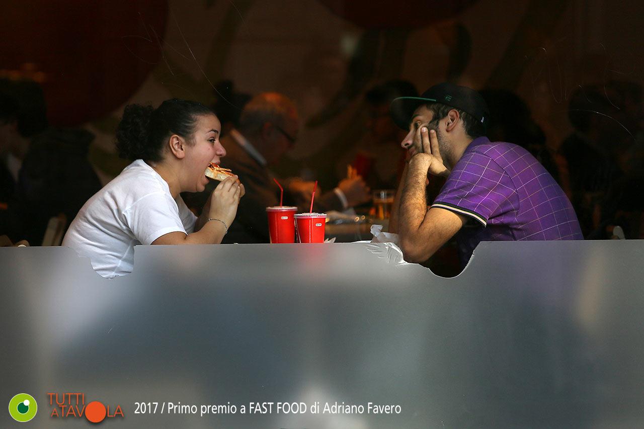 FAST FOOD, Adriano Favero, concorso fotografico mdf 2017